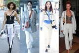 最适合夏天的白色牛仔裤 学杨紫林允穿对绝对不显胖