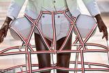 Thom Browne男装秀细节 当绝代艳后遇上常春藤运动健将