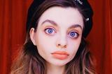俄罗斯美少女Maria Oz 有一双被网友号称世界最大的眼睛