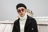 木子洋现身巴黎助阵Chanel大秀 黑白配满是高级感