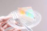 只要半小时 你也能做出彩虹色透明蛋糕