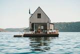 避世之所 漂浮在海面上的别墅