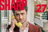"""淘气可爱!""""哈利波特""""Daniel Radcliffe登杂志封面"""