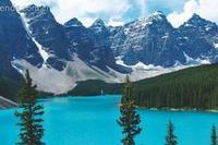 加拿大度蜜月 落基山的純凈自然之旅