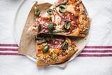 爱上烘焙 爱上腊肠橄榄披萨的味道