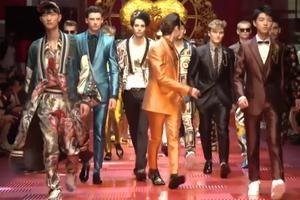 [米兰男装周]Dolce & Gabbana秀场