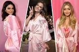 2017维密浴袍年年有今年最华丽 牡丹刺绣致敬中国风