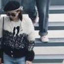 刘诗诗示范的毛衣开衫穿法 就是好看