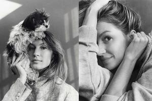 黑白色调 Gisele Bundchen再登《Vogue》