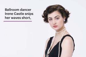 百年短发美人进化史