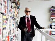 揭秘时尚老佛爷Karl Lagerfeld巴黎的家