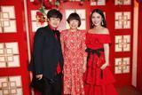 Alexa Chung、余晚晚亮相肯辛顿宫新年晚宴