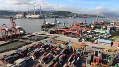 海关总署:9月进出口同比增13.6% 出口环比降1.2%
