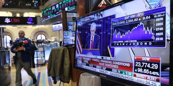 华尔街反应:美联储预测今年不升息 让投资人参不透