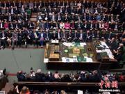 为阻止无协议脱欧 英国在野党拟发动不信任投票