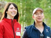 贝佐斯夫妇正式离婚 前妻成亚马逊第三大股东