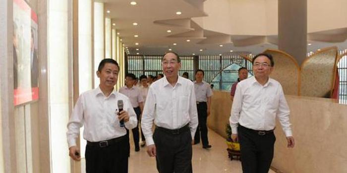 中共中央书记处书记尤权视察红豆集团