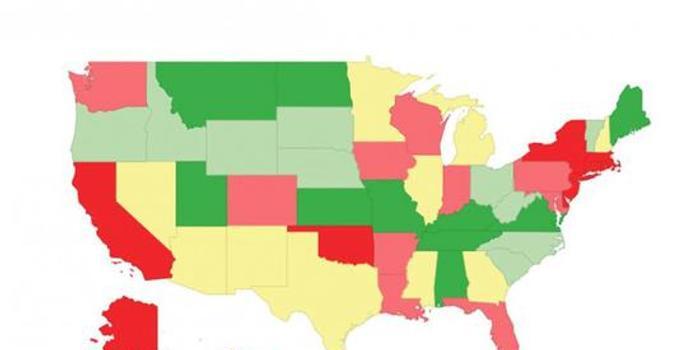 美国公路有多糟糕?研究显示正在恶化