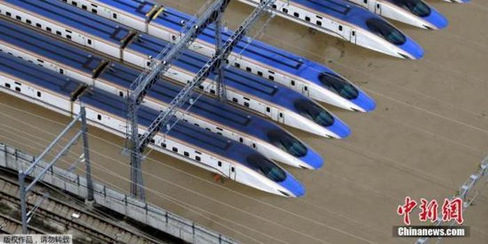 日本遭泡水新干线列车大部分或报废 造价约118亿日元