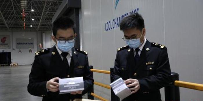 深圳海关快速验放多批口罩等境外捐赠物资