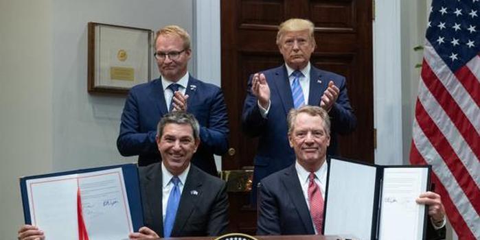 特朗普宣布與歐盟達成協議 增加美國牛肉出口