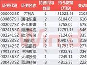 QFII加速布局A股市场 三季度大举增持房地产(附股)