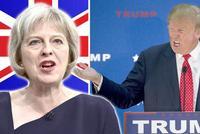 特朗普:英国脱欧协议有利欧盟 但或损害英美贸易