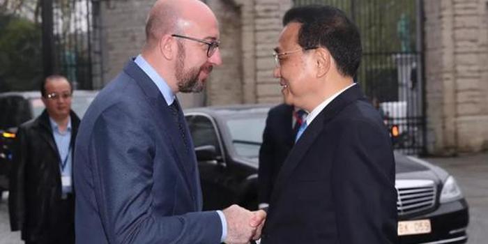 李克强:愿扩大从比利时进口适合中国市场需求产品