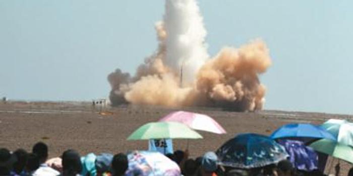 中國民營商業運載火箭成功實施首次入軌發射