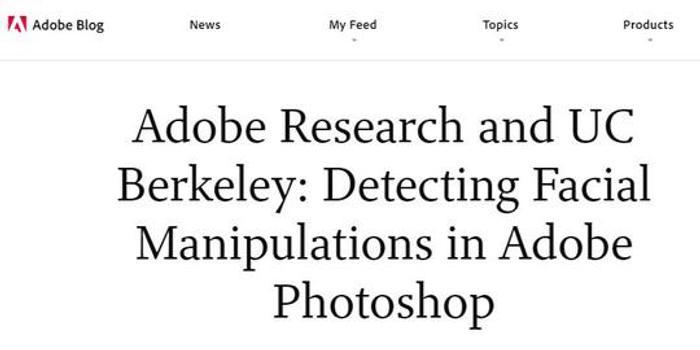 """Adobe发明神器要给美颜照""""卸妆""""网友:自己打假自己"""