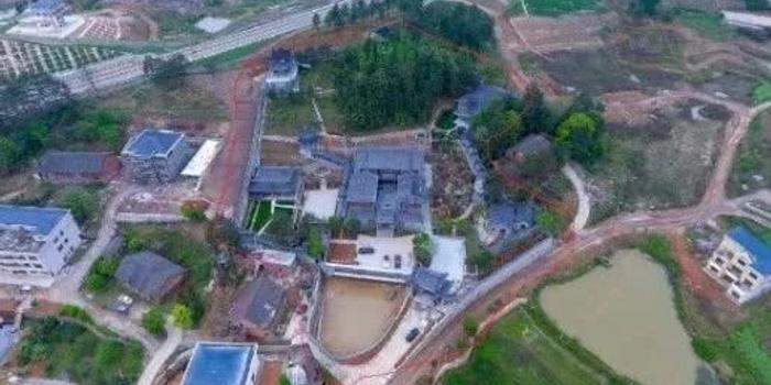 湖南邵东第一豪宅申家大院花4年建成 为啥建成后再拆