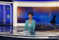 刘欣已抵达中央广播电视总台演播室