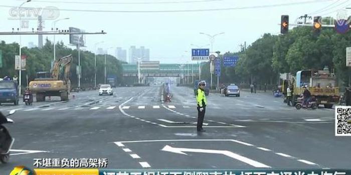 """记者追踪无锡桥面侧翻事故:国道成超载""""重灾区"""""""