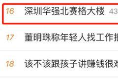 太吓人!深圳华强北70层高楼突然晃动,市民逃离:有人鞋都跑断了!最新回应来了