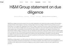 中新微評:H&M那一套,在中國沒有市場!