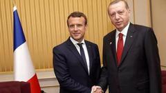 法国总统府:马克龙向埃尔多安保证将予以支持