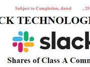 Slack将IPO参考价格定为每股26美元 估值达157亿美元