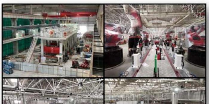 特斯拉首次展示上海超级工厂内部照片 预计年底投产