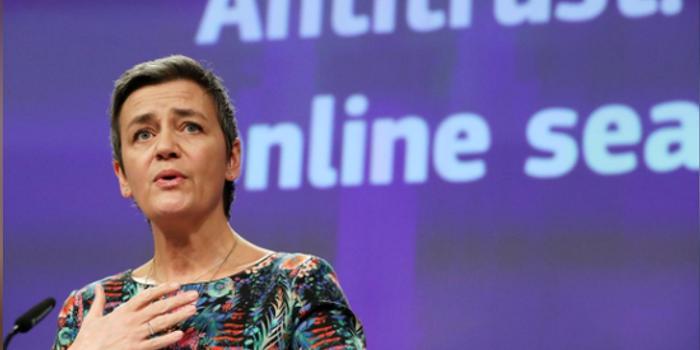 """巴黎人娱乐_欧盟反垄断专员:要在征收""""数字税""""方面起带头作用"""