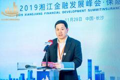 刘中杰出席2019湘江金融发展峰会保险科技论坛并发言
