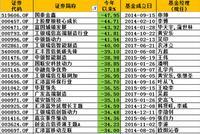 2018基金业绩黑榜:国泰、上投摩根旗下多只产品亏40%