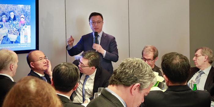 井贤栋达沃斯演讲:十年内eWTP让小企业成为跨国公司
