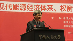 中国人民大学经济研究所联席所长杨瑞龙主持大会