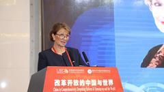 司嘉丽:中国在全球化和国际合作方面发挥了关键作用
