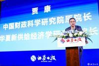 贾康:在中国和平发展中间 并不只是只有中美关系