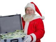 """美国65岁老人抢银行后向路人撒钱 高呼""""圣诞快乐"""""""