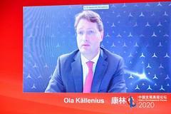 奔馳董事會主席:得益于中國市場快速復蘇 已交付57萬輛車