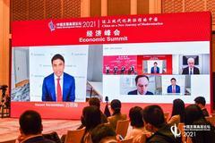 """諾華公司CEO萬思瀚:中國有獨特機會建設充滿活力的""""銀發經濟"""""""