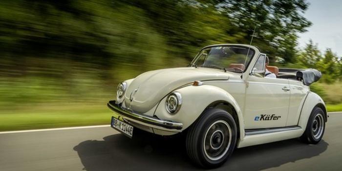 大众推出甲壳虫复活计划 帮助旧车变成电动车