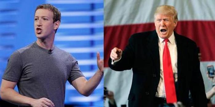 Facebook:扎克伯格与特朗普进行建设性对话
